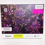 Purple Succulents- 1,000 Piece Jigsaw Puzzle
