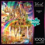 Rainbow City- Ciro Marchetti- 1,000 Piece Jigsaw Puzzle